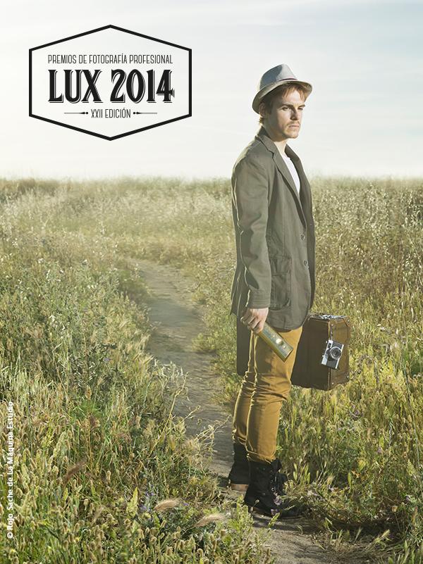 Cartel LUX 2014 - © Rojo Sache de La Máquina Estudio