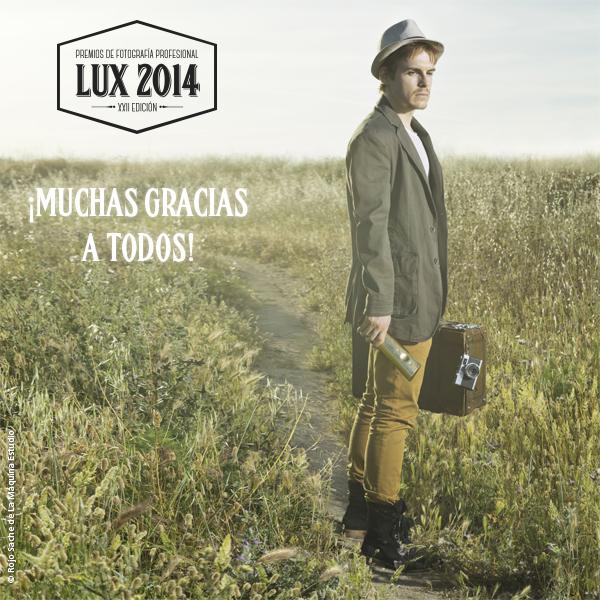 LUX2014 Agradecimientos